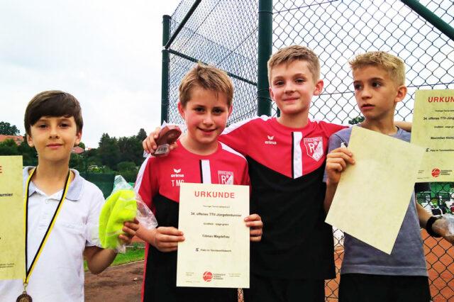 Erfolgreiche Teilnahme beim 34. Jüngstenturnier in Altenburg